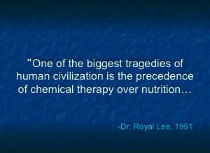 Dr. Royal Lee