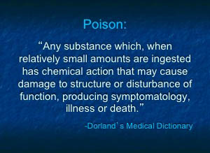 definition of poison